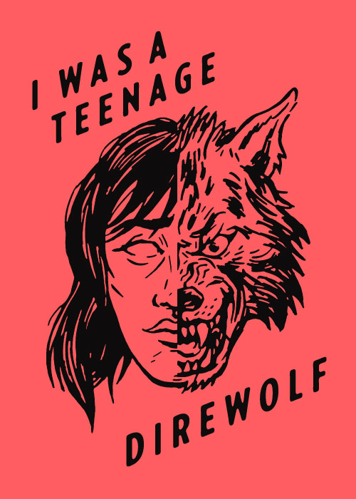 teenage direwolf